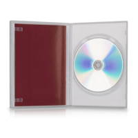 DVD Slimbox, transparent