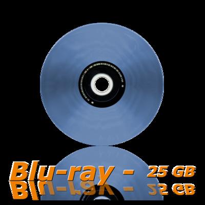 blu ray glassmaster, 25 gb