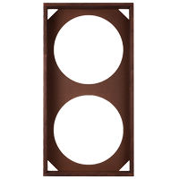 HOFA Frame brown for two modules