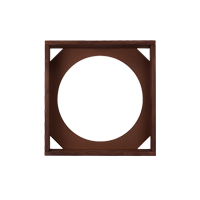 HOFA Frame brown for one module