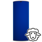 "HOFA Basstrap ""natural"" - royal blue"