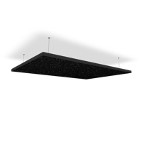 HOFA Ceiling Sail 180 with Rope Fastening Set - black